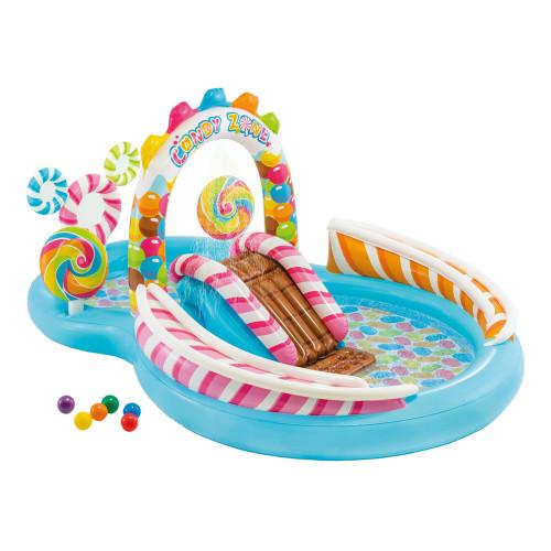 Intex Candy Zone Uppblåsbart Lekland för Barn