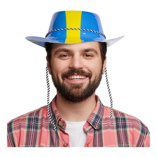 Plasthatt Sverige - One Size