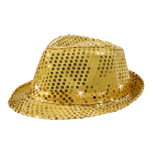 Paljetthatt Guld - One size