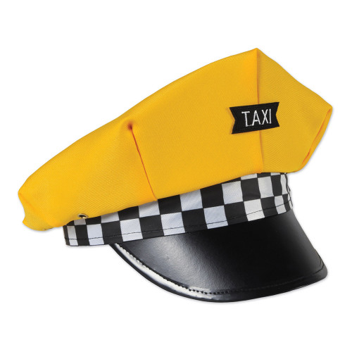 Taxikeps Klassisk Gul - One size