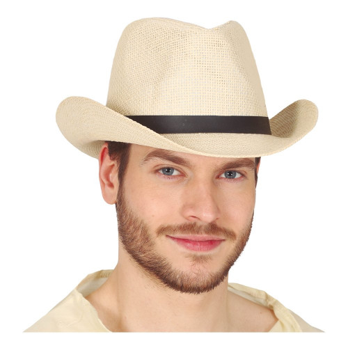 Cowboy Stråhatt - One size