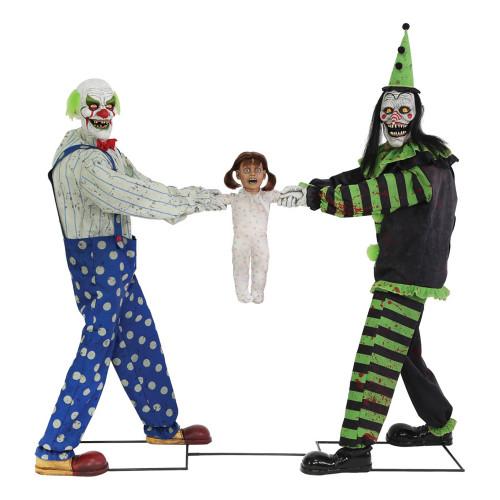 Tug-Of-War Clowns Prop