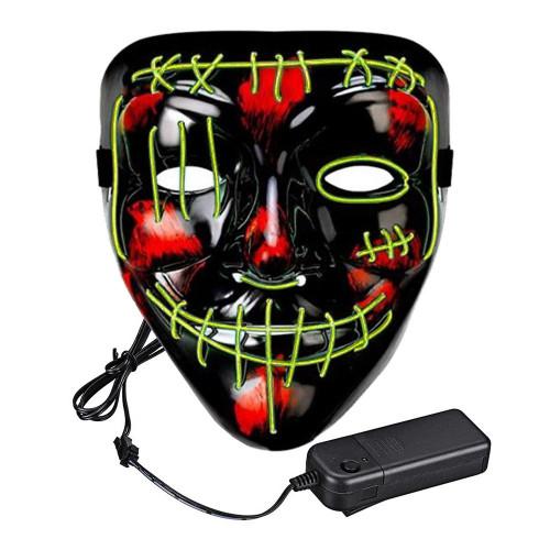 El Wire Purge 2 LED Mask