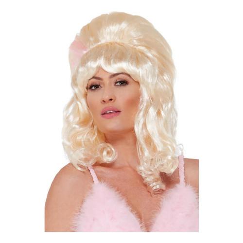 60-tals Glamourflicka Peruk - One size