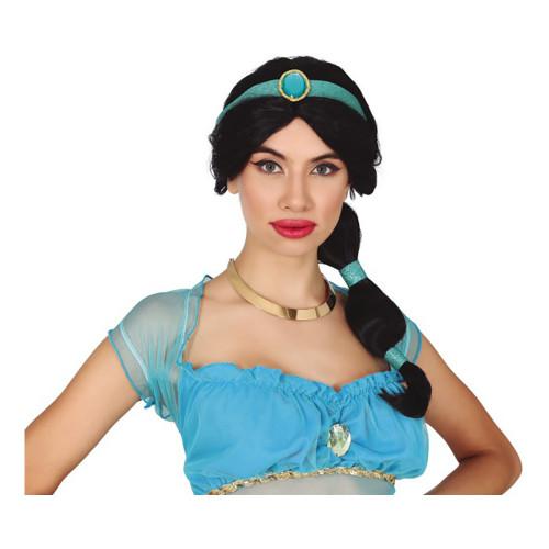 Orientalisk Prinsessa med Hästsvans Peruk - One size