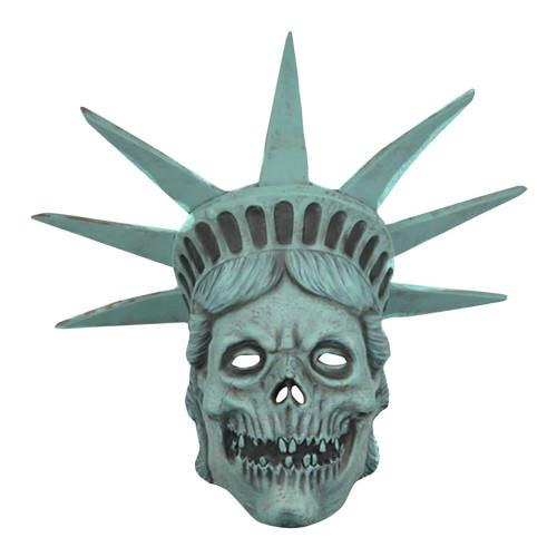 Frihetsgudinnan Döskalle Mask - One size