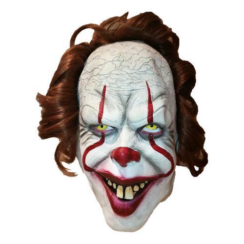 Hånflinande Clown Mask - One size