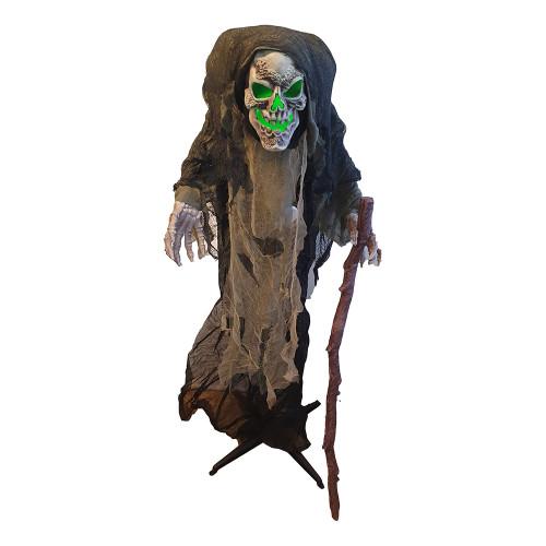 Reaper Prop med Ljud & Ljus - 158 cm