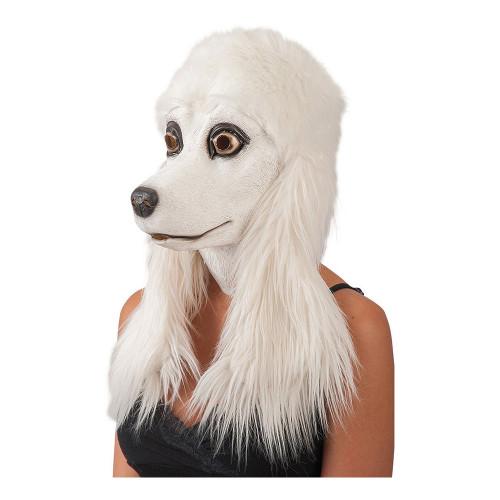 Pudel Mask med Hår - One size