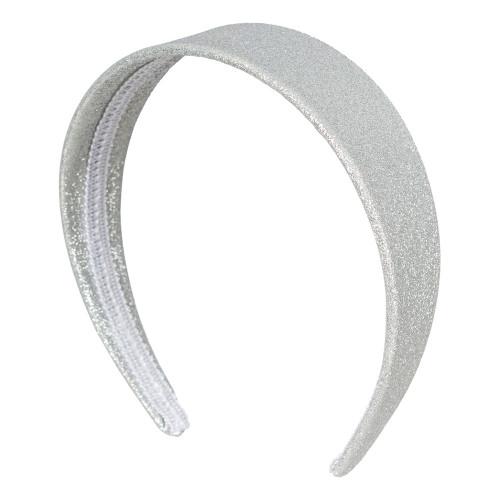 Diadem 50-tal Glitter Silver - One size