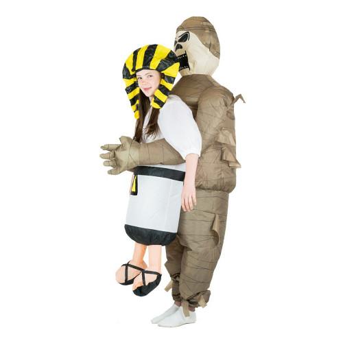 Uppblåsbar Mumie Barn Maskeraddräkt - One size