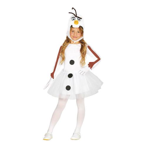 Snögubbe Klänning Barn Maskeraddräkt