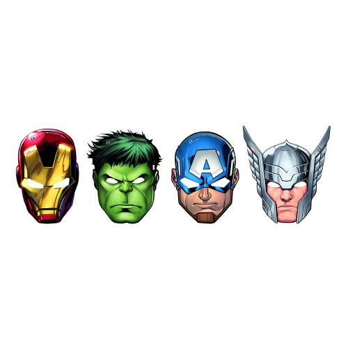 Ansiktsmasker Avengers - 6-pack