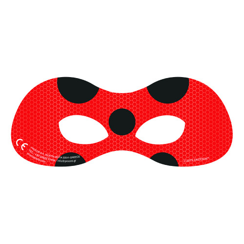 Ögonmasker Ladybug - 6-pack