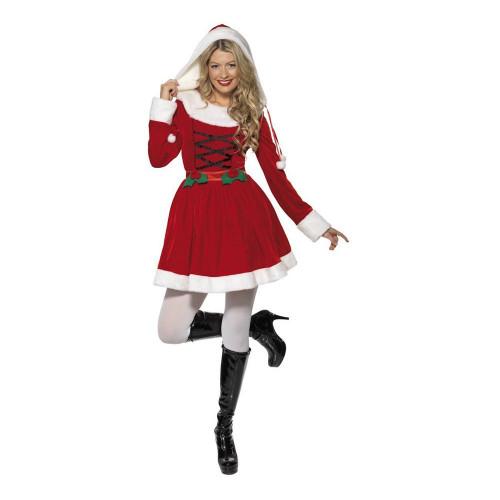 Miss Santa Röd Maskeraddräkt