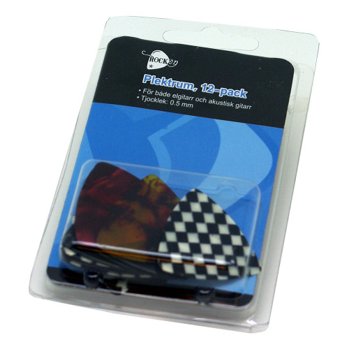 RockOn Plektrum - 12-pack
