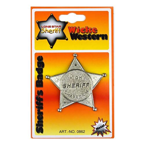 Sheriffstjärna Barn - 1-pack
