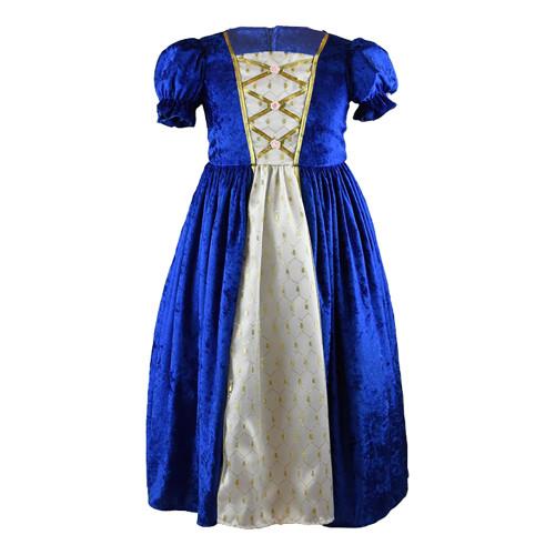 Prinsessklänning Sammetsblå Barn