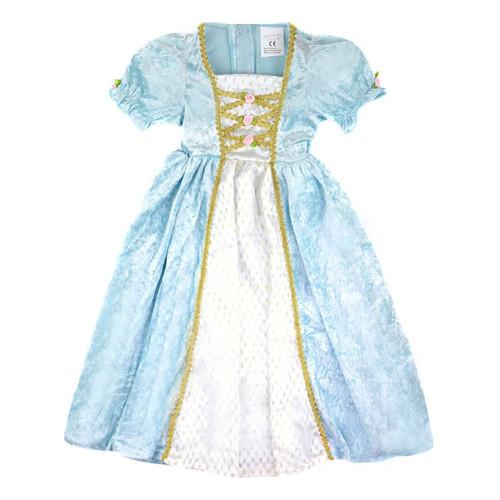 Prinsessklänning Sammetsturkos Barn