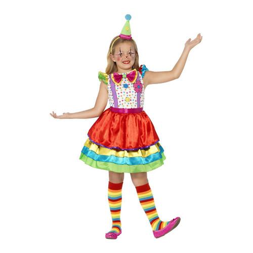 Clownklänning Barn Maskeraddräkt