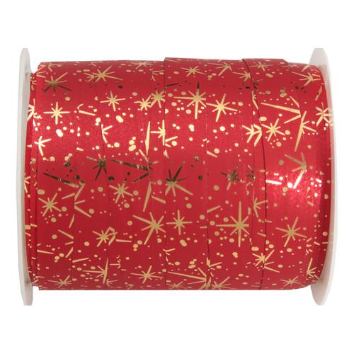 Presentsnöre Fireworks Röd/Guld - 1-pack