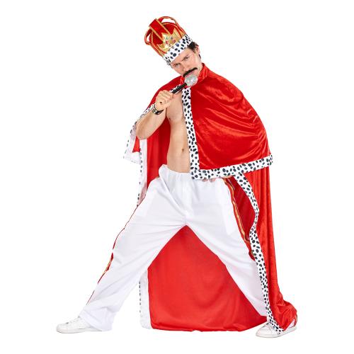 Kung Freddie Maskeraddräkt