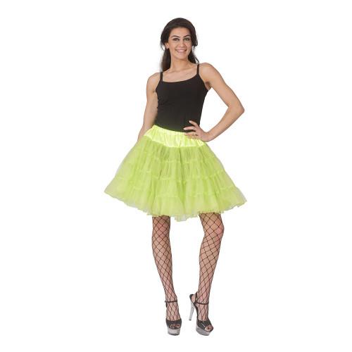 Tyllkjol Glittergrön - One Size