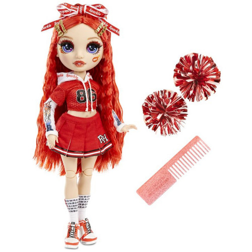 Rainbow high Cheer Doll - Ruby Anderson (Re