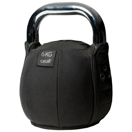 Casall Kettlebell soft 6 kg Black