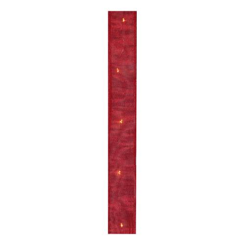 Dekorationssnöre Röd med LED
