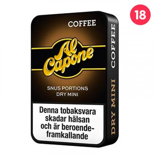 Al Capone Coffee Dry Minisnus 10-pack utgånget