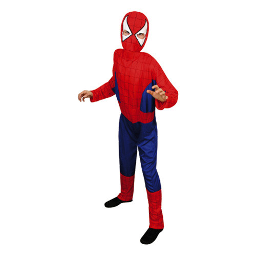 Spiderman Budget Barn Maskeraddräkt