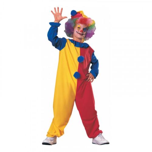 Clown Budget Barn Maskeraddräkt