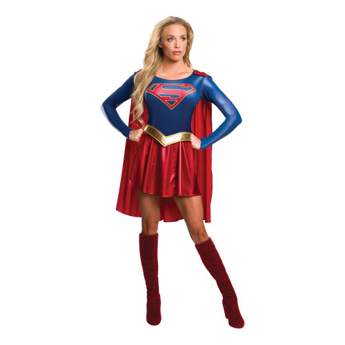 Supergirl Tv-Serie Maskeraddräkt
