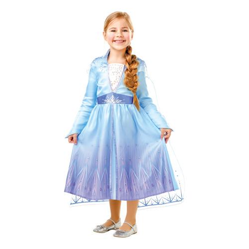 Frozen 2 Elsa Barn Maskeraddräkt