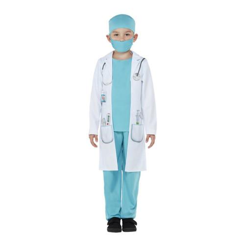 Klassisk Doktor Barn Maskeraddräkt