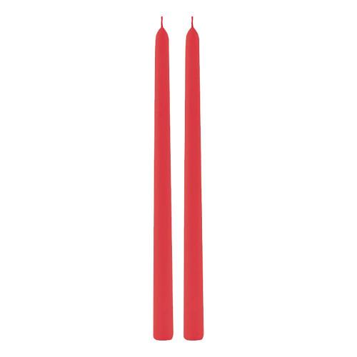 Avlånga Ljus Röda - 2-pack