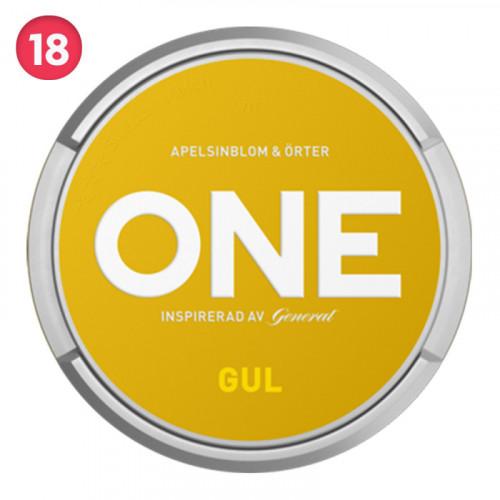 General One Gul 10-pack utgånget