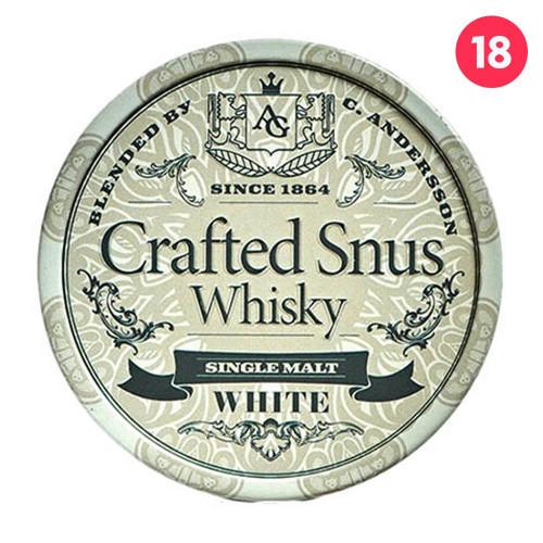 Crafted Snus Whisky White 10-pack utgånget