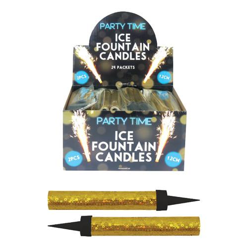 Isfontän Guld Sparkling - 24-pack