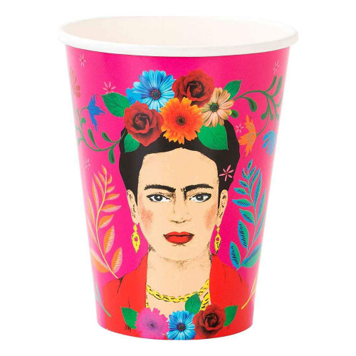 Pappersmuggar Boho Frida - 8-pack