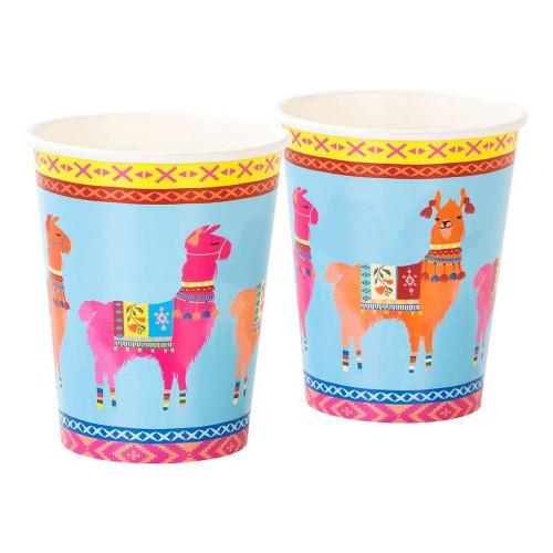Pappersmuggar Boho Lama - 8-pack