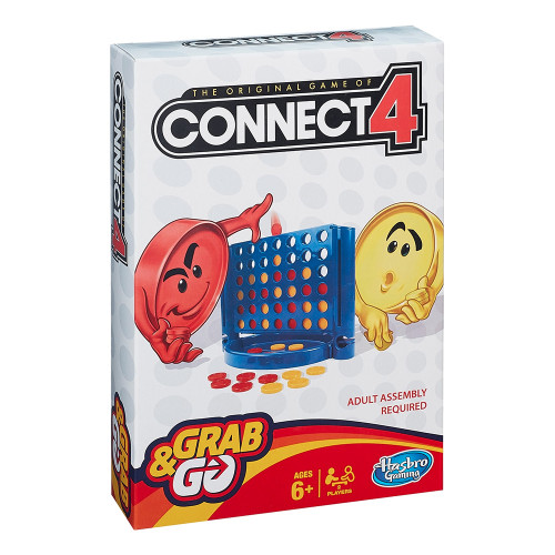 Connect 4 (Fyra-i-rad) Resespel - Connect 4