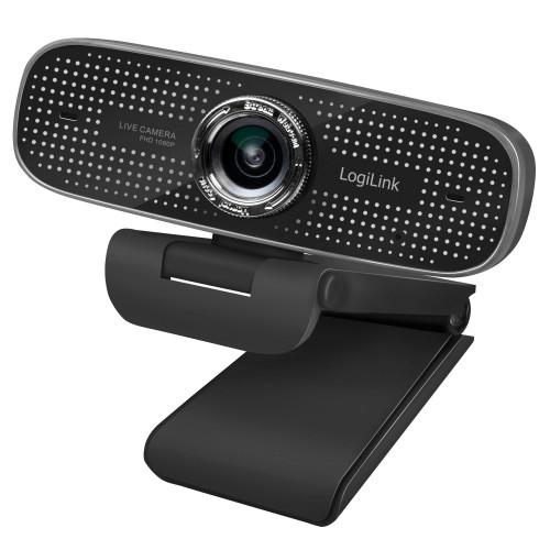 LogiLink Konferens-Webbkamera 1080p 100