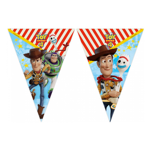 Flaggbanner Toy Story 4