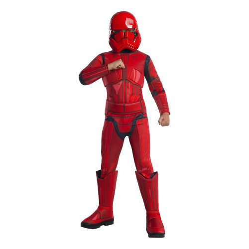 Star Wars Rise of Skywalker Sith Trooper Deluxe Barn Maskeraddräkt