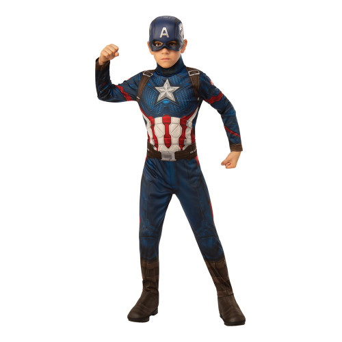 Avengers 4 Captain America Barn Maskeraddräkt