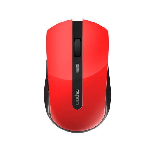 RAPOO Mus 7200M Multi-Mode Trådlös Optisk Röd