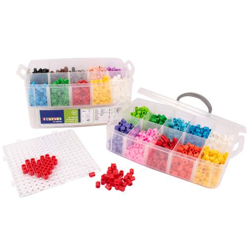 Playbox XL-pärlor i förvaringsbox