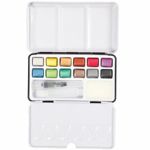Colortime Art Aqua akvarellfärger metall